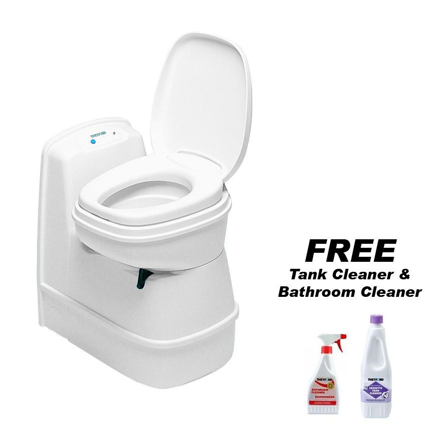 thetford c200 cs cassette toilet caravan boat free tank. Black Bedroom Furniture Sets. Home Design Ideas