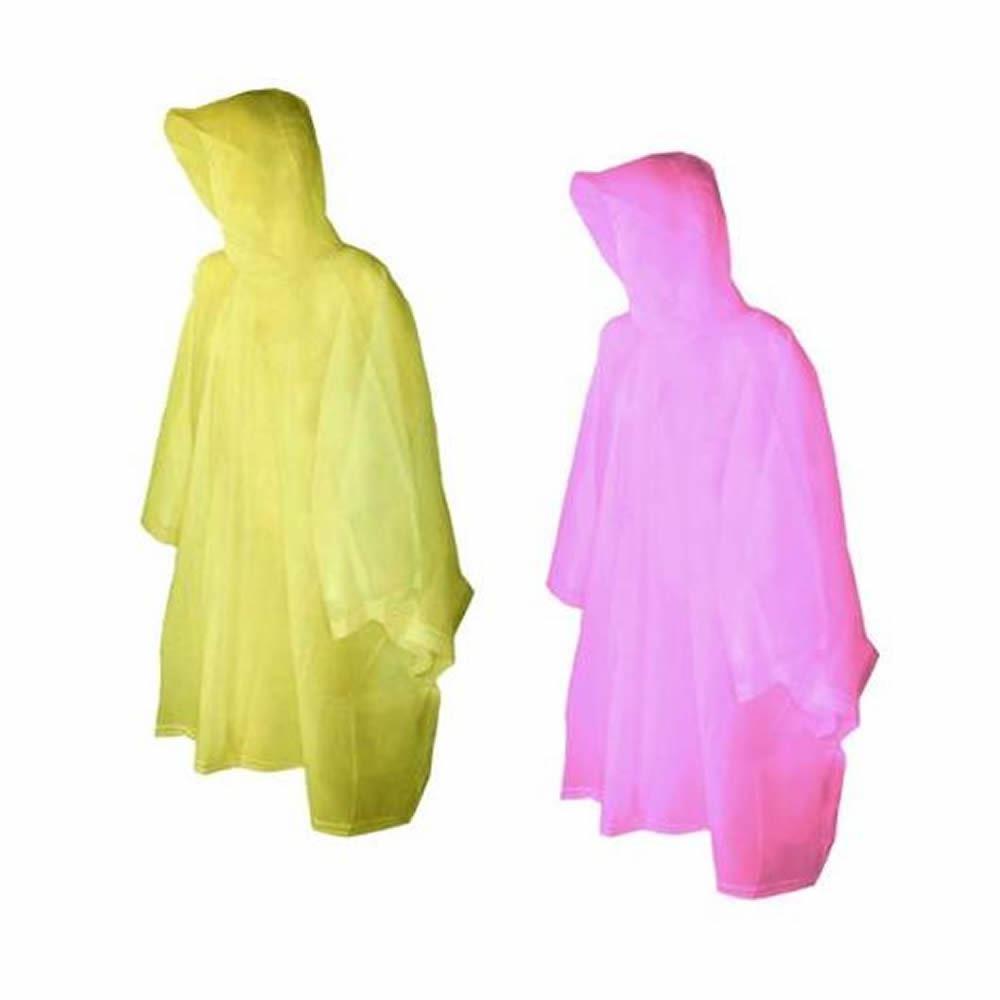 En Plastique Réutilisable Poncho Adulte étanche Poncho Camping Festival Walkin pluie COA