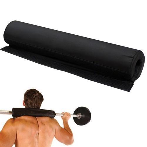Mousse d/'haltères reste pad pour squat haltérophilie derrière l/'épaule olympique bar