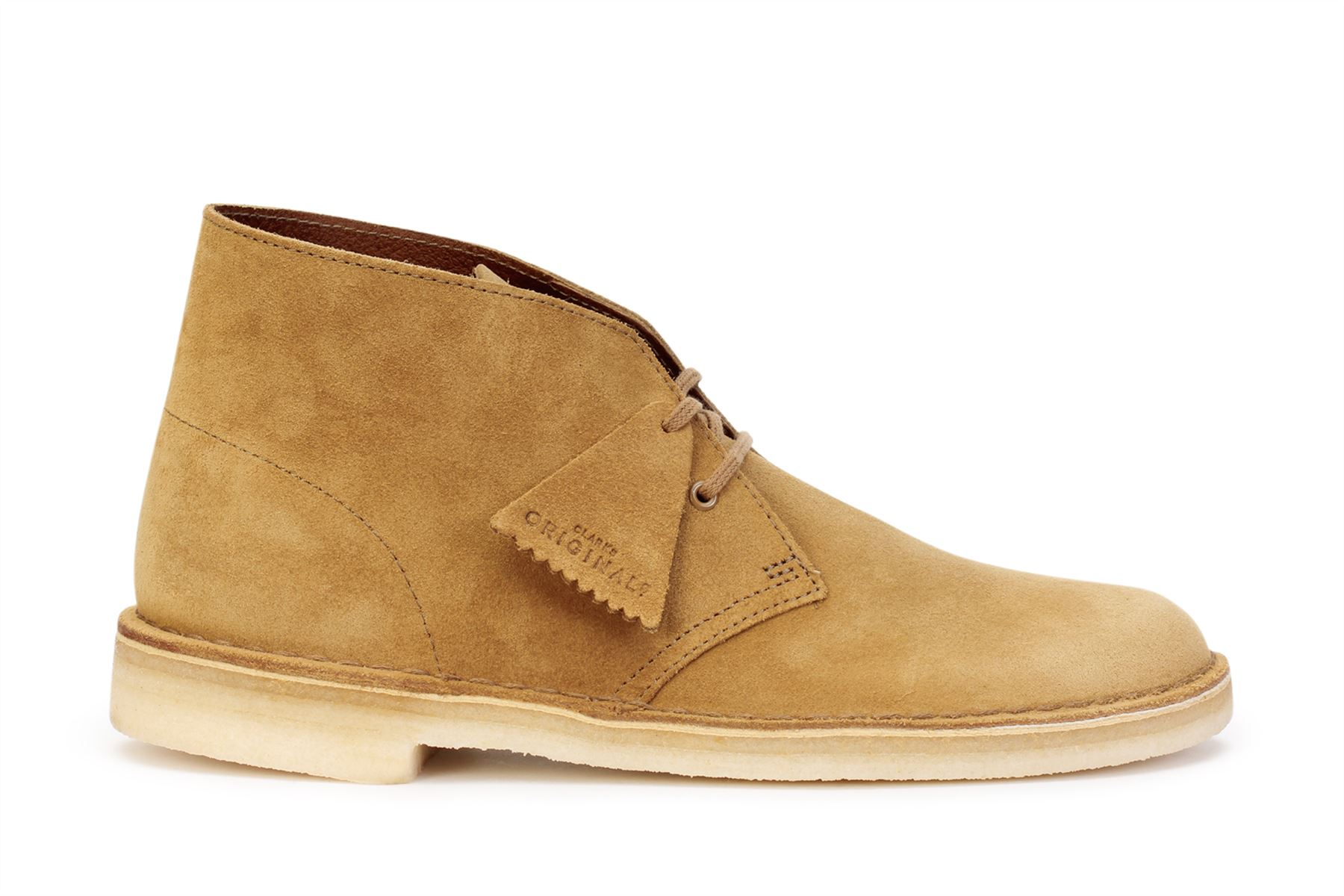 a359ec7e Details about Clarks Originals Men's Desert Boots Oak Suede 26138233