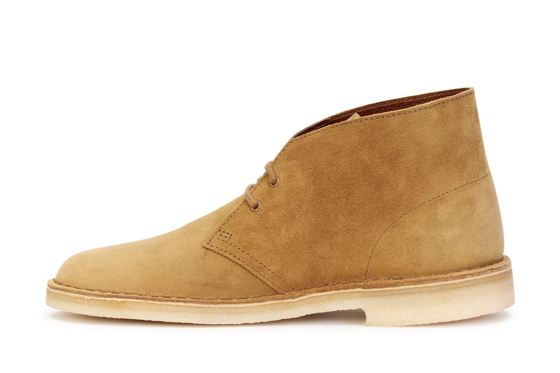 Clarks Originals Desert Boots Suede Oak Men's Sizes 26138233