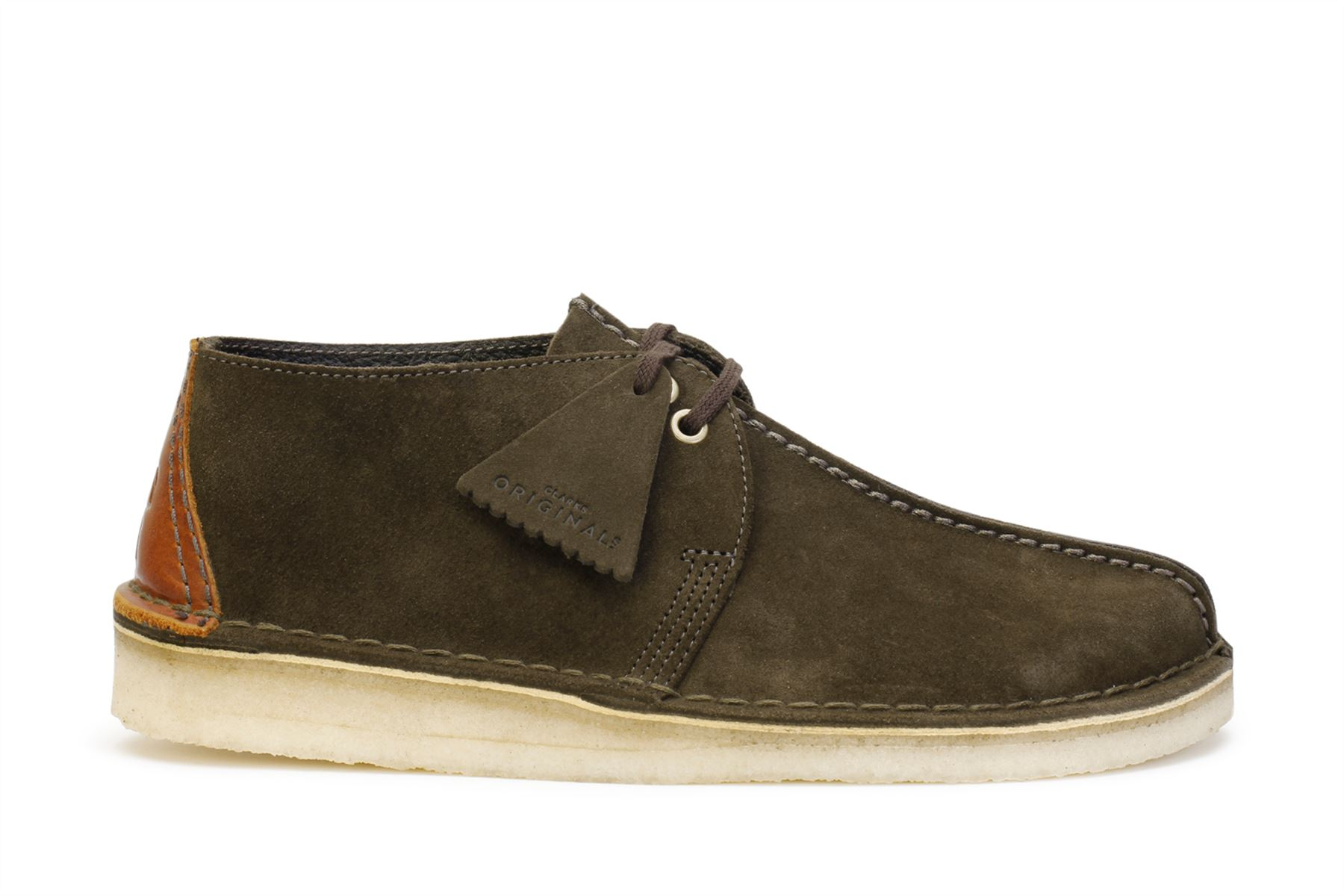 e800f702 Details about Clarks Originals Men's Desert Trek Shoes Dark Green Suede  26134762