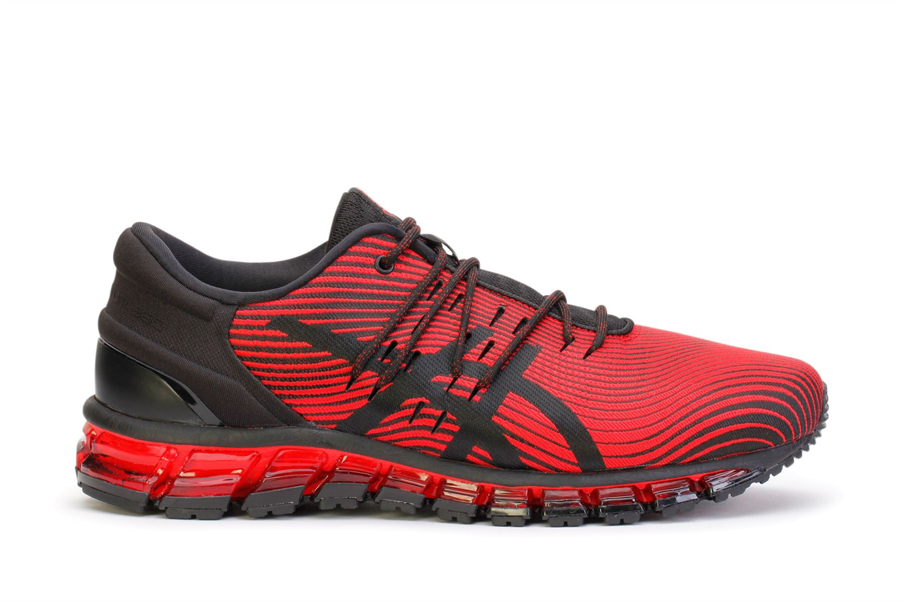 outlet store 5731f 581f5 Asics Men s Running Sneakers Gel-Quantum 360 4 Red Alert Black