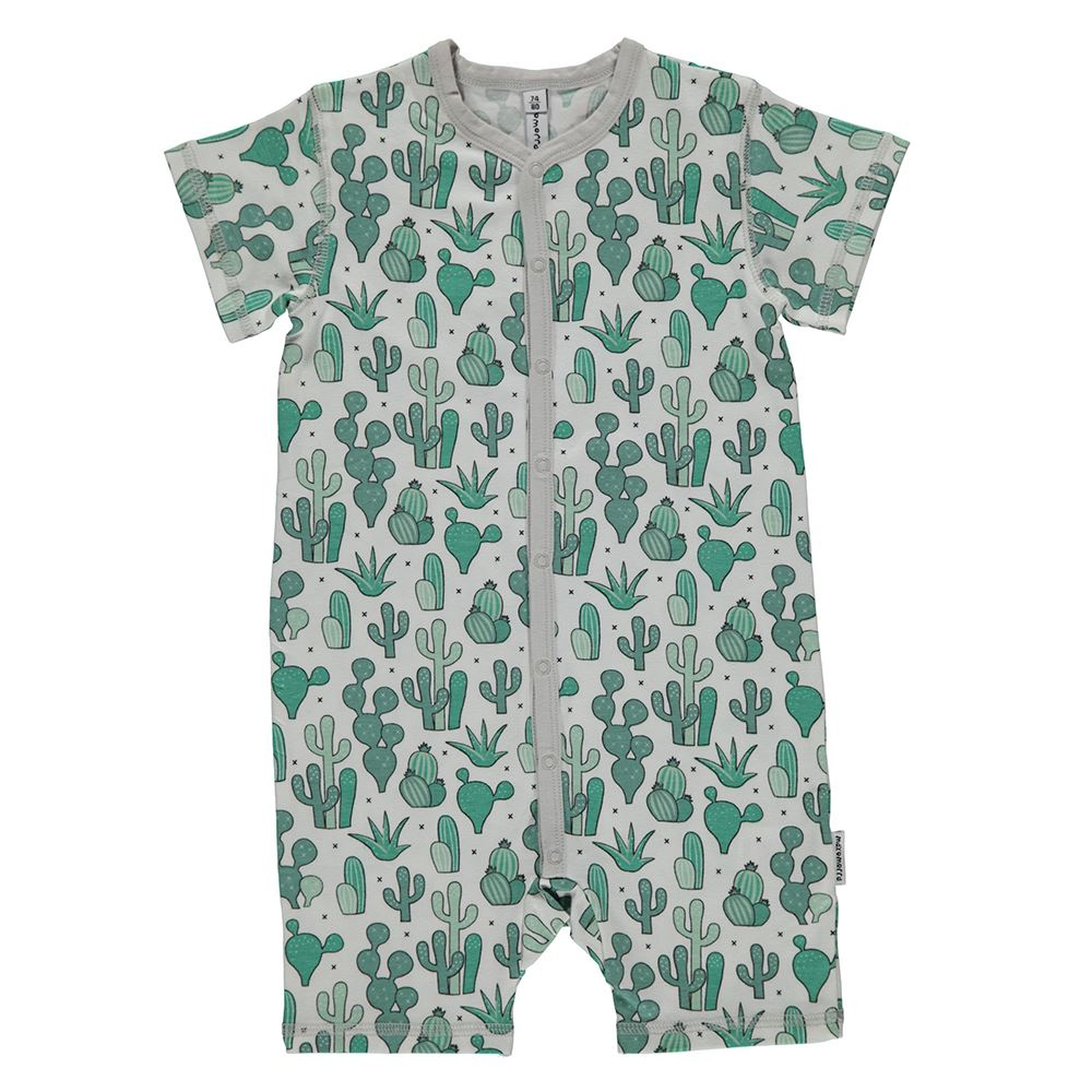 6-12 2-6 Maxomorra Organic Cotton Cactus  Baby Bodysuit  0-2 12-24 Months