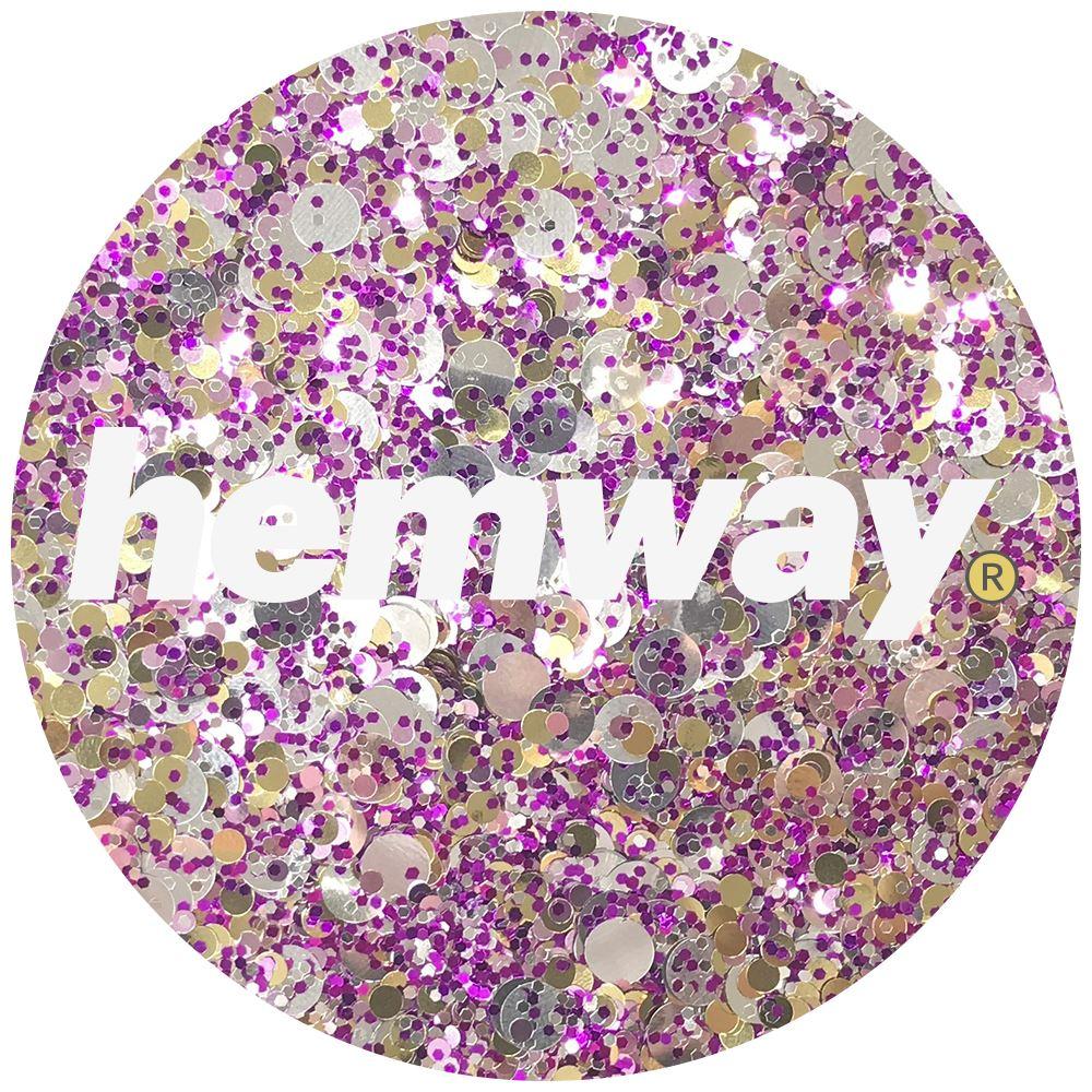 Hemway-Festival-Brillo-Copo-de-Disco-Grueso-Decorativo-Grande-Mezcla-Traje-De-La-Danza miniatura 52
