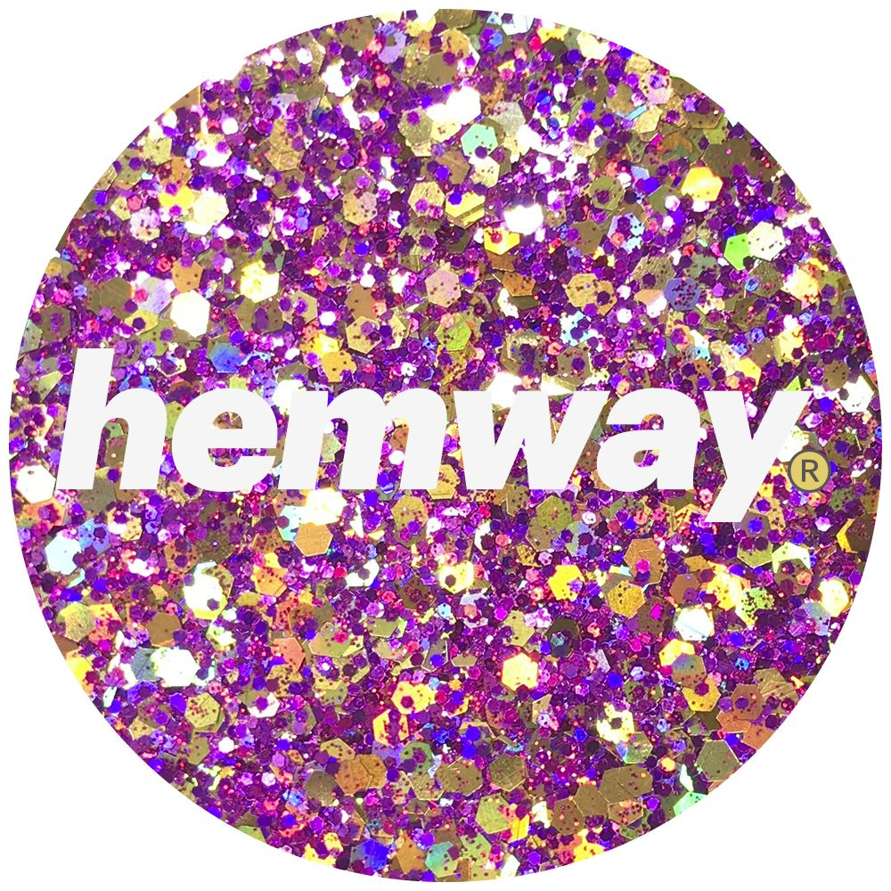 Hemway-Festival-Brillo-Copo-de-Disco-Grueso-Decorativo-Grande-Mezcla-Traje-De-La-Danza miniatura 44
