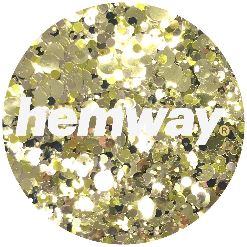 Hemway-Festival-Brillo-Copo-de-Disco-Grueso-Decorativo-Grande-Mezcla-Traje-De-La-Danza miniatura 12