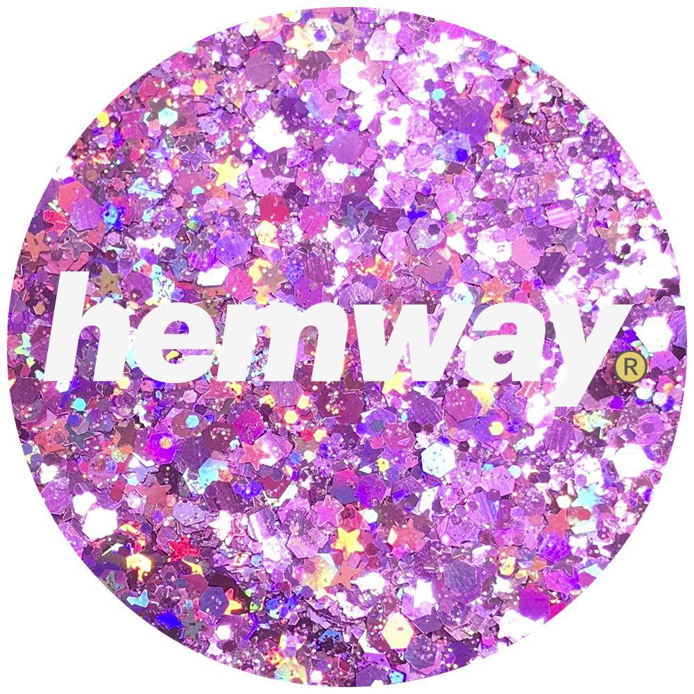 Hemway-Festival-Brillo-Copo-de-Disco-Grueso-Decorativo-Grande-Mezcla-Traje-De-La-Danza miniatura 108