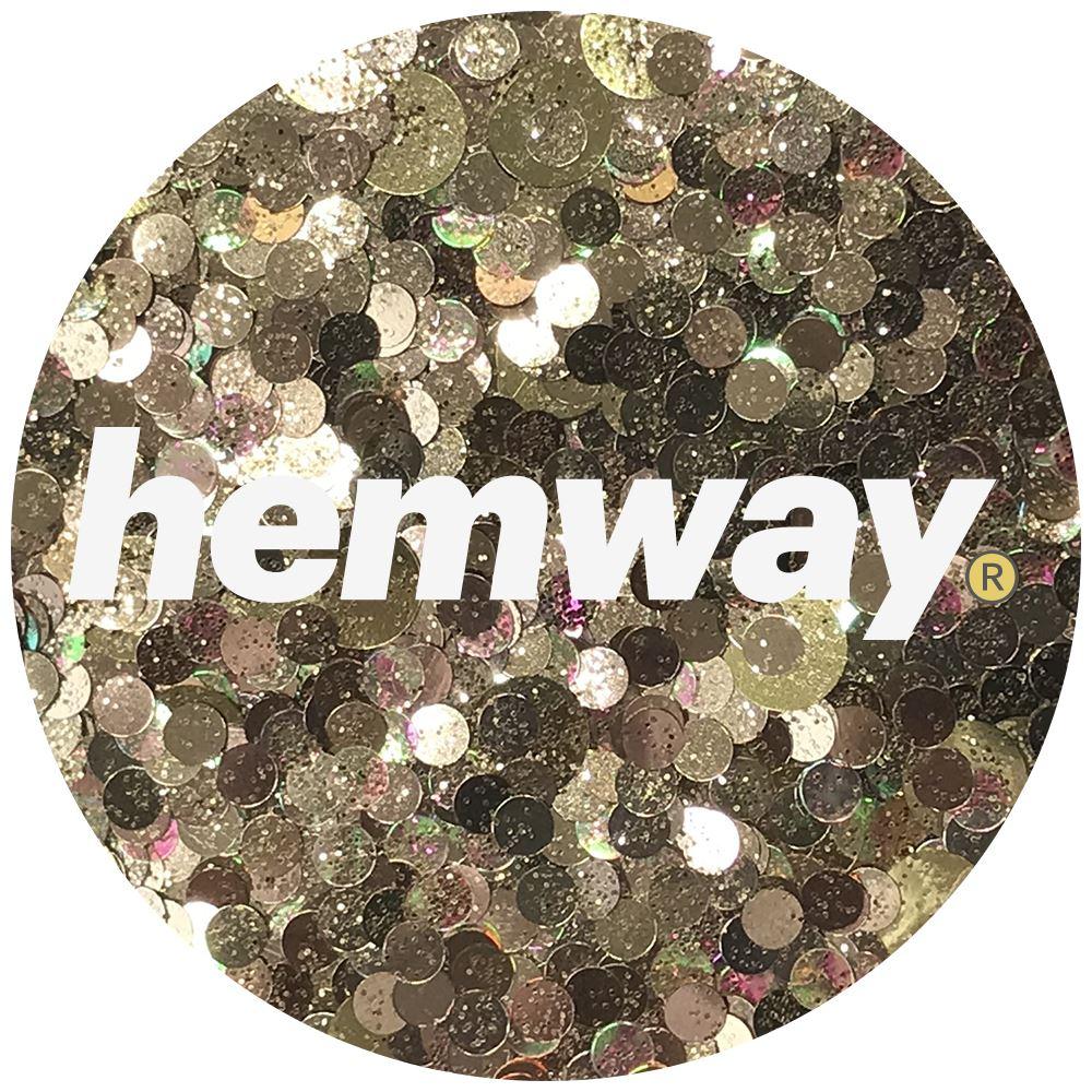Hemway-Festival-Brillo-Copo-de-Disco-Grueso-Decorativo-Grande-Mezcla-Traje-De-La-Danza miniatura 40
