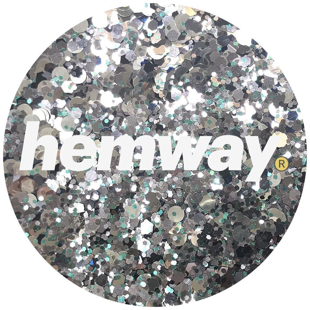 Hemway-Festival-Brillo-Copo-de-Disco-Grueso-Decorativo-Grande-Mezcla-Traje-De-La-Danza miniatura 120