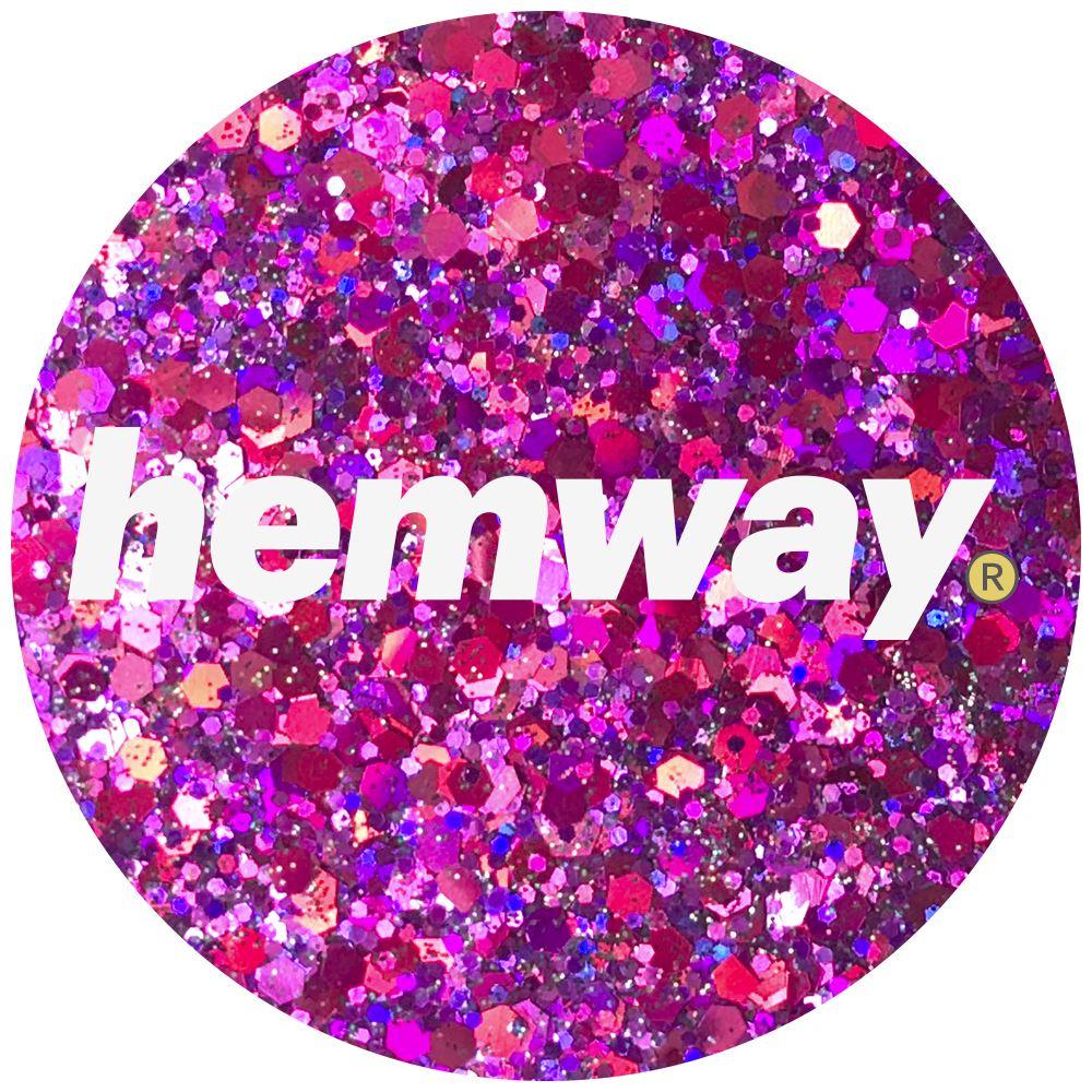 Hemway-Festival-Brillo-Copo-de-Disco-Grueso-Decorativo-Grande-Mezcla-Traje-De-La-Danza miniatura 24