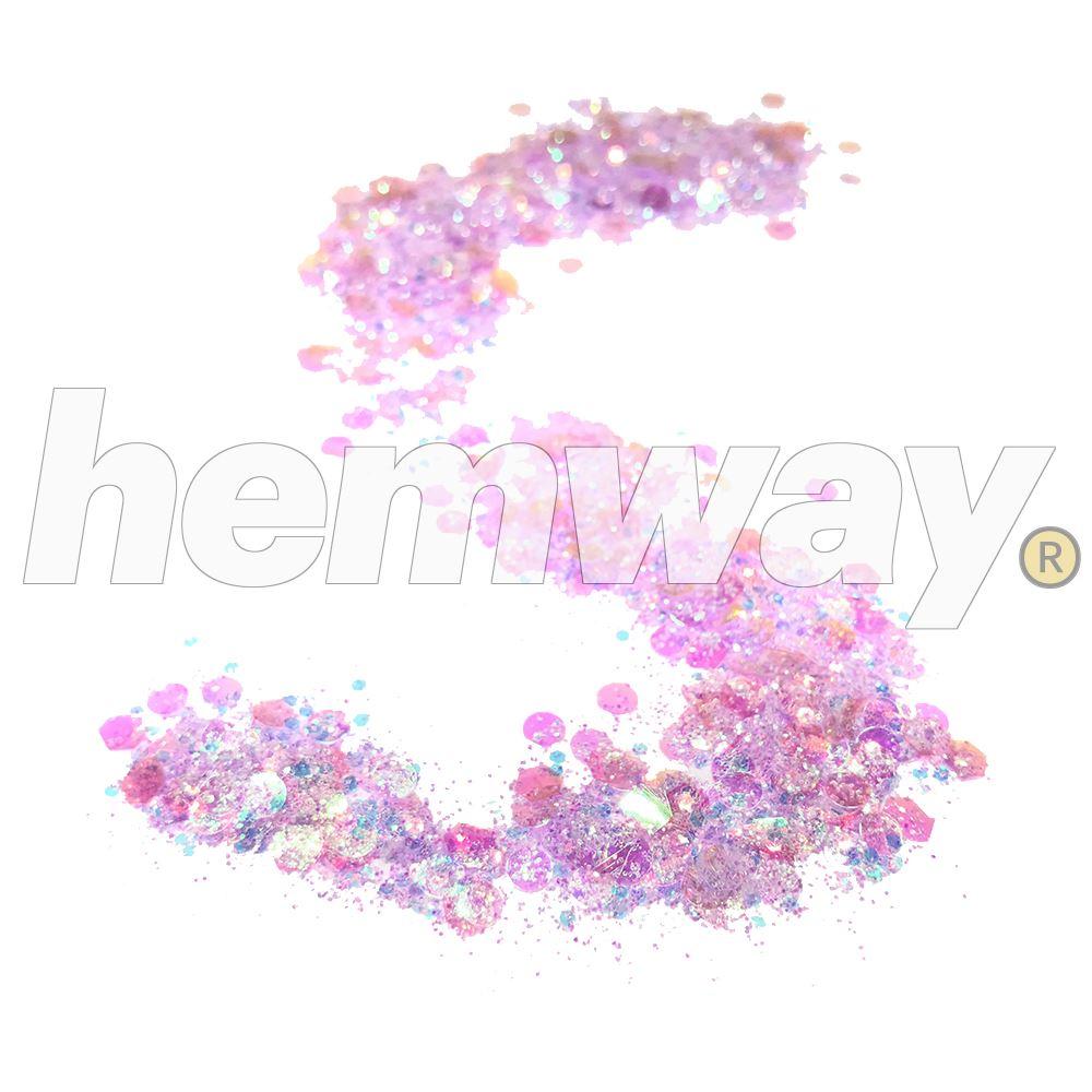 Hemway-Festival-Brillo-Copo-de-Disco-Grueso-Decorativo-Grande-Mezcla-Traje-De-La-Danza miniatura 71