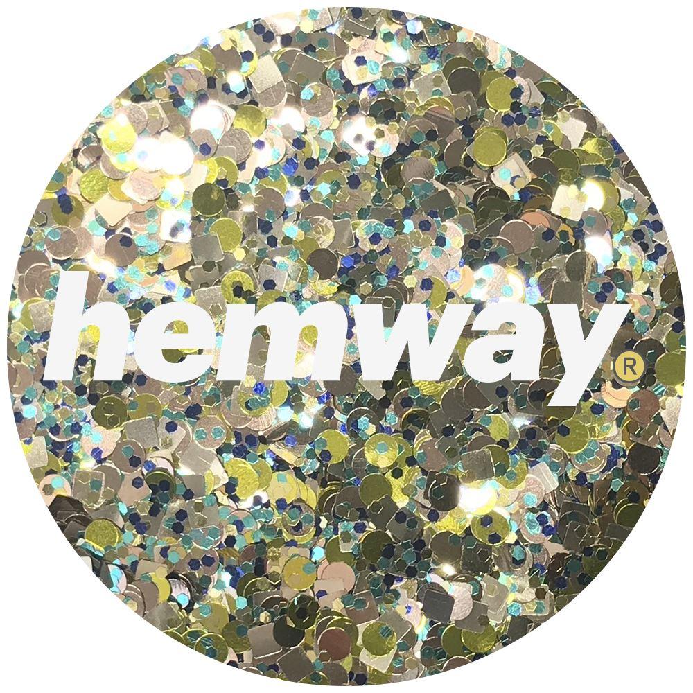 Hemway-Festival-Brillo-Copo-de-Disco-Grueso-Decorativo-Grande-Mezcla-Traje-De-La-Danza miniatura 32