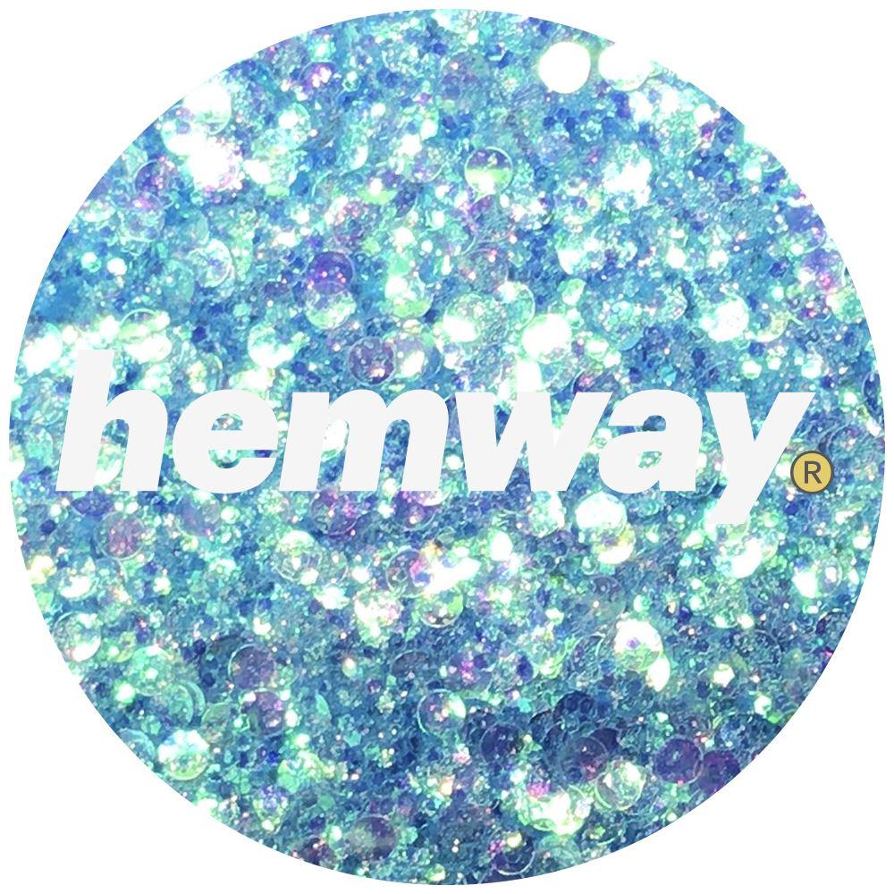 Hemway-Festival-Brillo-Copo-de-Disco-Grueso-Decorativo-Grande-Mezcla-Traje-De-La-Danza miniatura 4