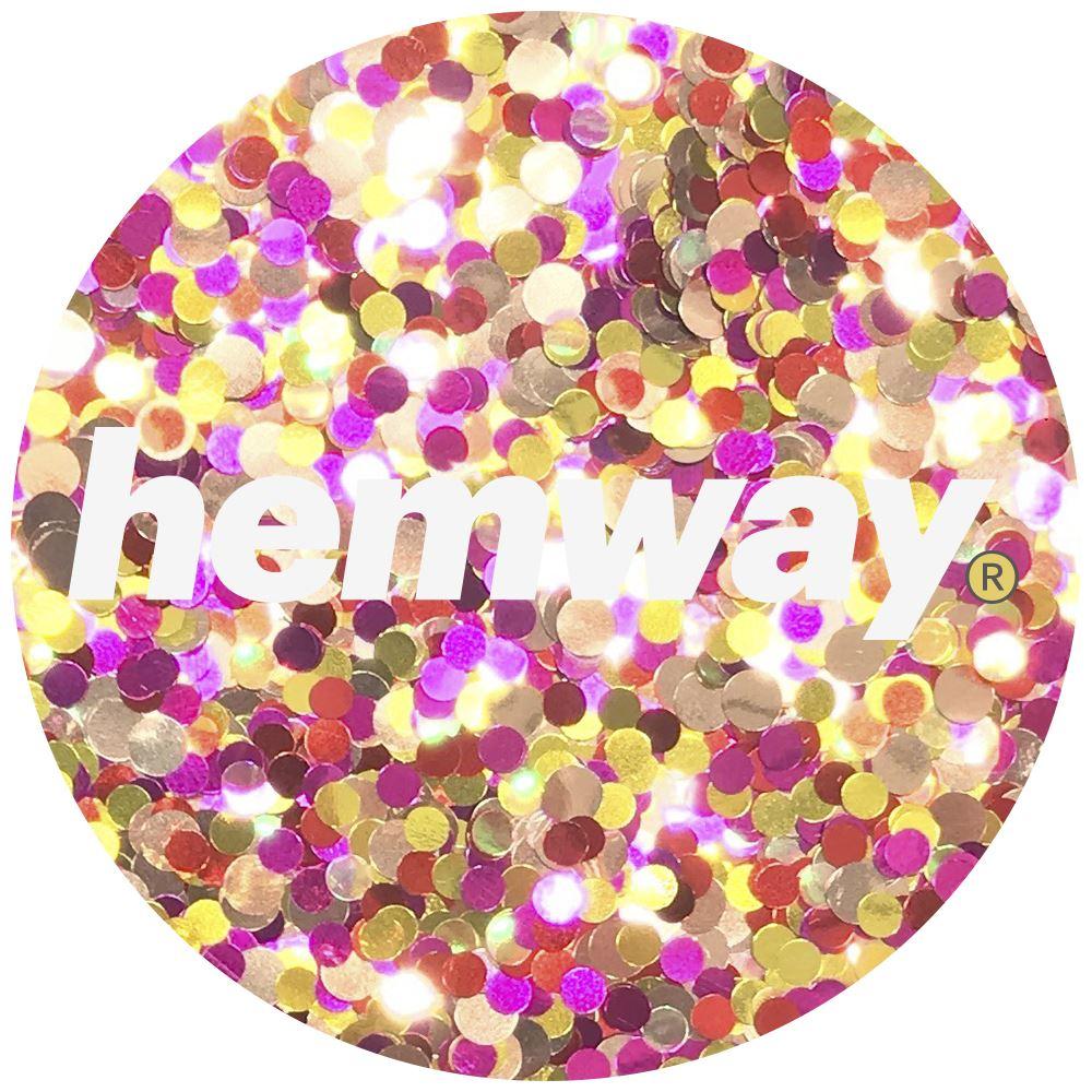 Hemway-Festival-Brillo-Copo-de-Disco-Grueso-Decorativo-Grande-Mezcla-Traje-De-La-Danza miniatura 48