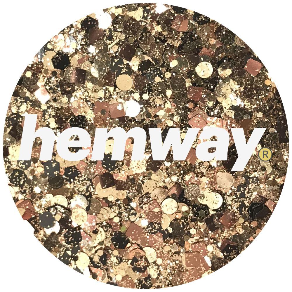 Hemway-Festival-Brillo-Copo-de-Disco-Grueso-Decorativo-Grande-Mezcla-Traje-De-La-Danza miniatura 16