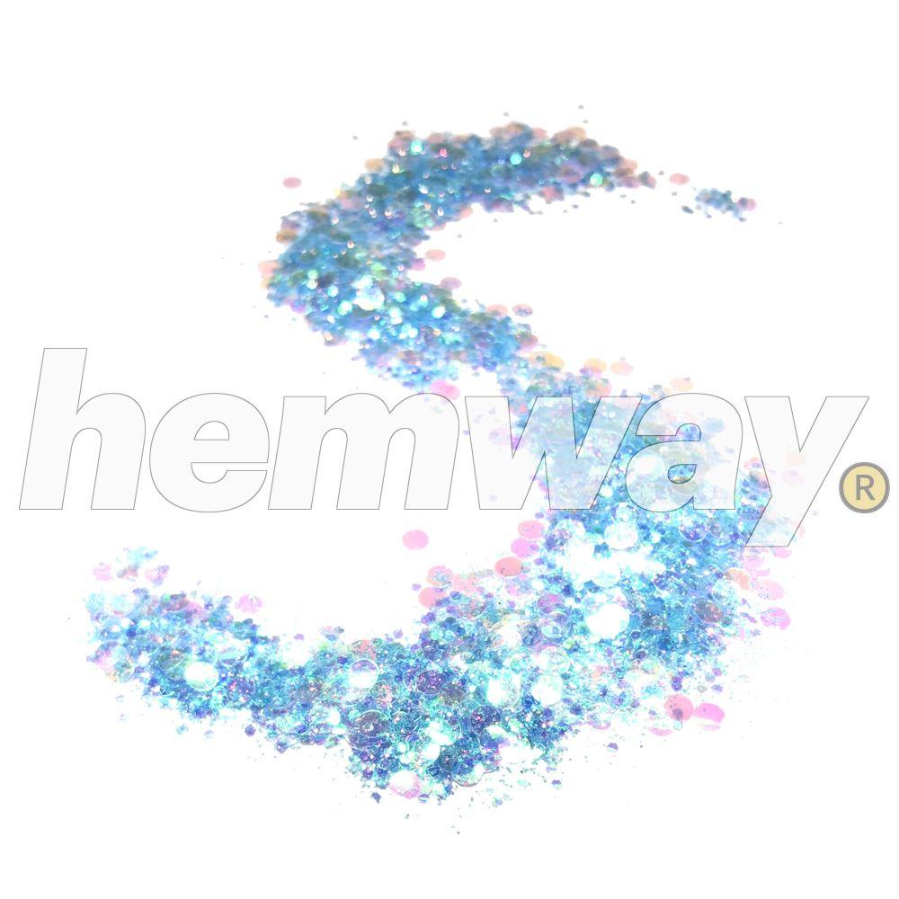 Hemway-Festival-Brillo-Copo-de-Disco-Grueso-Decorativo-Grande-Mezcla-Traje-De-La-Danza miniatura 75