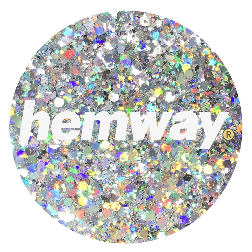 Hemway-Festival-Brillo-Copo-de-Disco-Grueso-Decorativo-Grande-Mezcla-Traje-De-La-Danza miniatura 116
