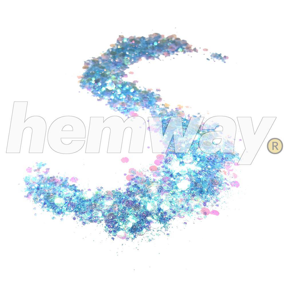 Hemway-Festival-Brillo-Copo-de-Disco-Grueso-Decorativo-Grande-Mezcla-Traje-De-La-Danza miniatura 3