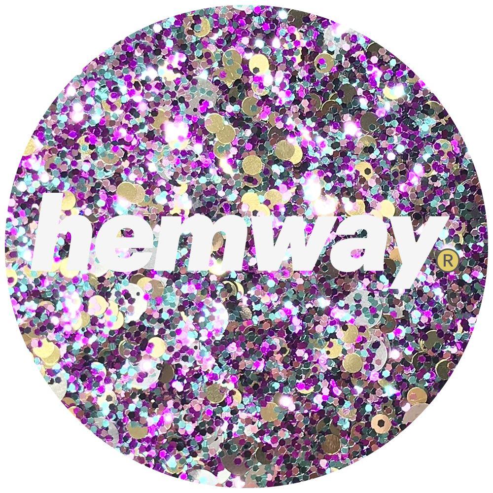 Hemway-Festival-Brillo-Copo-de-Disco-Grueso-Decorativo-Grande-Mezcla-Traje-De-La-Danza miniatura 96