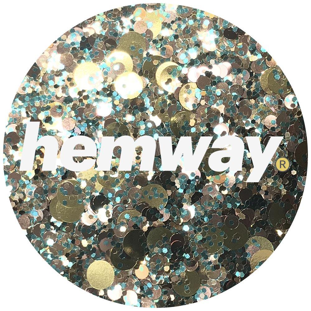 Hemway-Festival-Brillo-Copo-de-Disco-Grueso-Decorativo-Grande-Mezcla-Traje-De-La-Danza miniatura 28