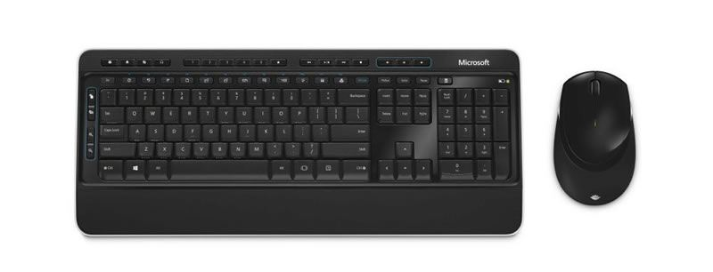 microsoft desktop 3050 wireless keyboard and mouse set 889842000399 ebay. Black Bedroom Furniture Sets. Home Design Ideas