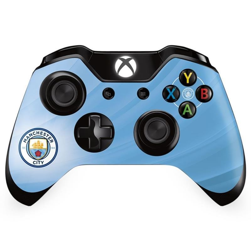 Details about Official Manchester City FC - Xbox One Controller Skin