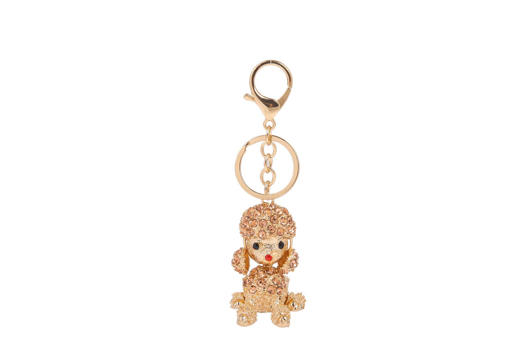 Key-Ring-Bag-Charm-Anime-Character-Rhinestone-Crystal-CZ-Keyring-Keychain-Gift thumbnail 5