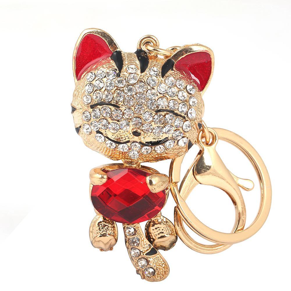 Key-Ring-Bag-Charm-Anime-Character-Rhinestone-Crystal-CZ-Keyring-Keychain-Gift thumbnail 24
