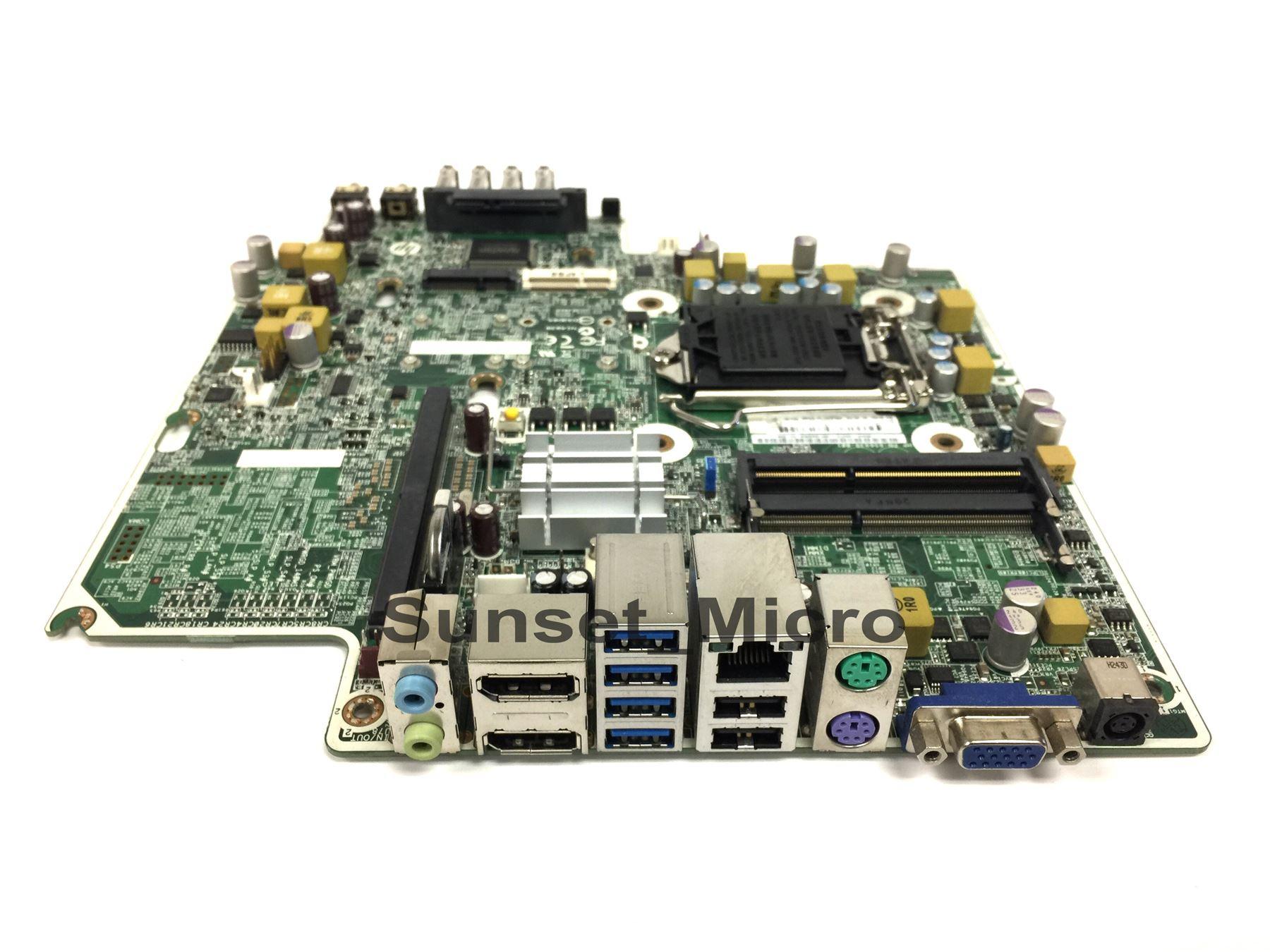 Details about HP Elite 8300 System Board ULTRA SLIM mainboard 657095-001  656937 656938 LGA1155