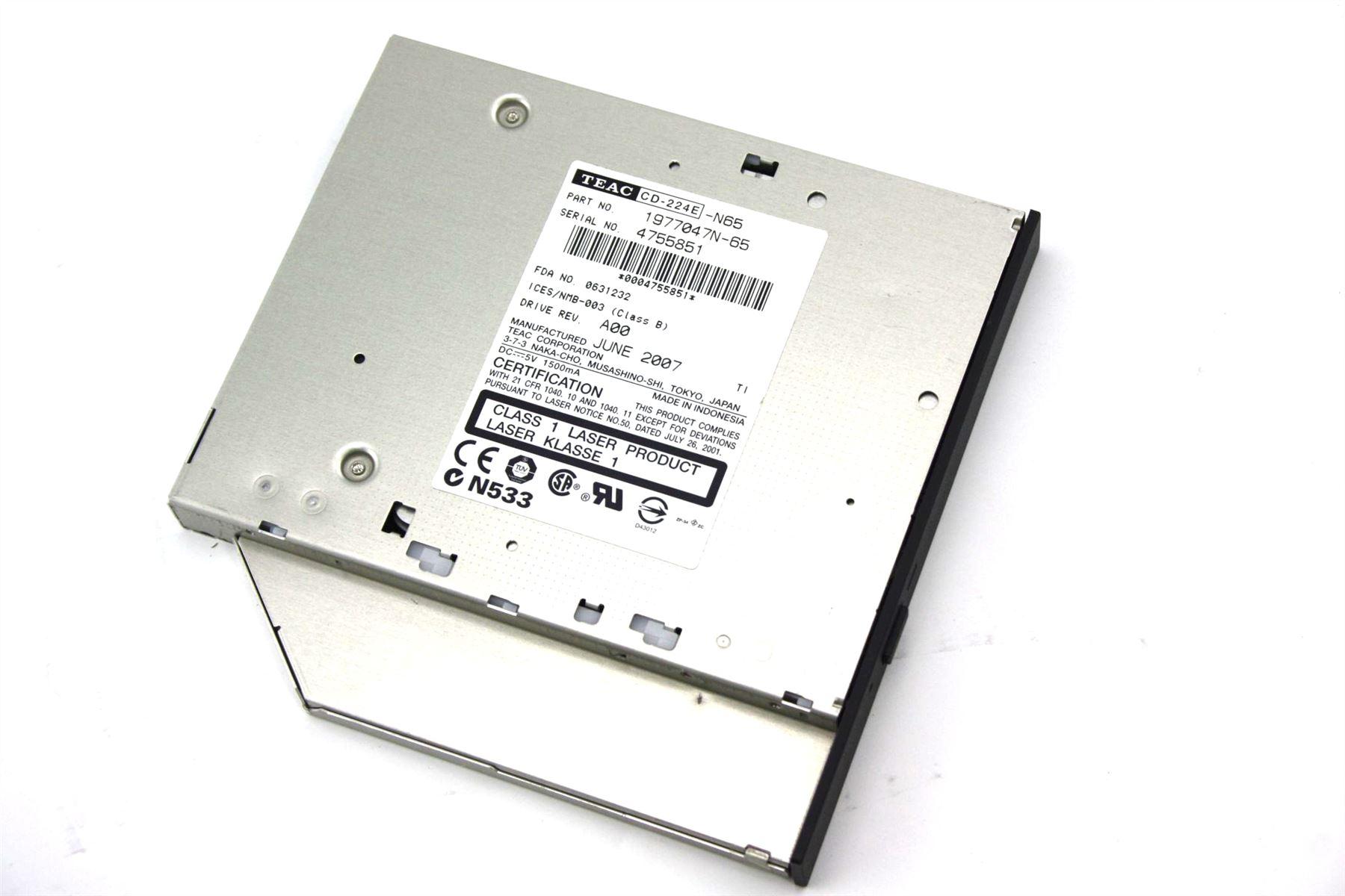 dell laptop has no cd drive