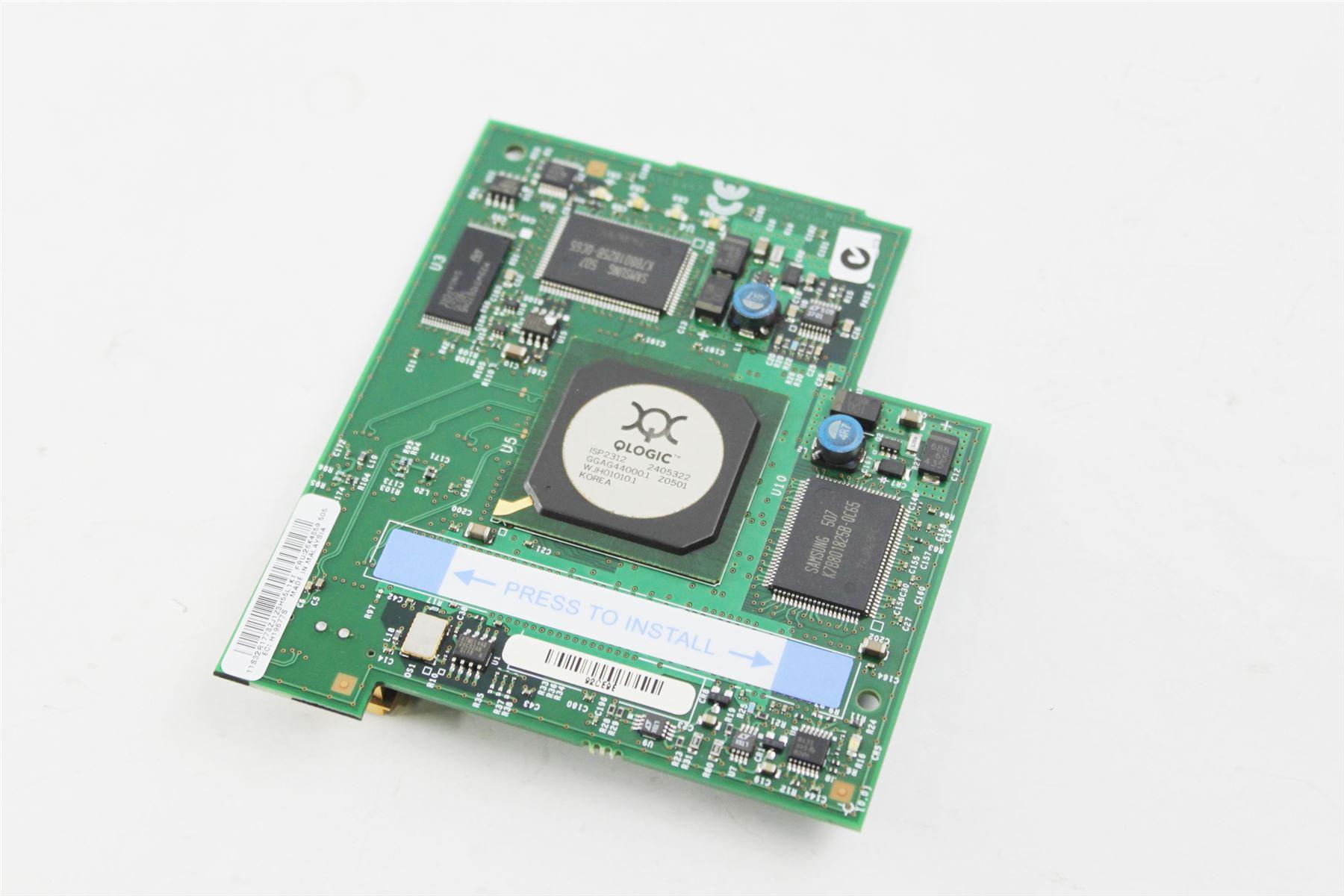 Genuine IBM BladeCenter Server Qlogic 2Gb Fiber Channel Expansion Card 26K4859