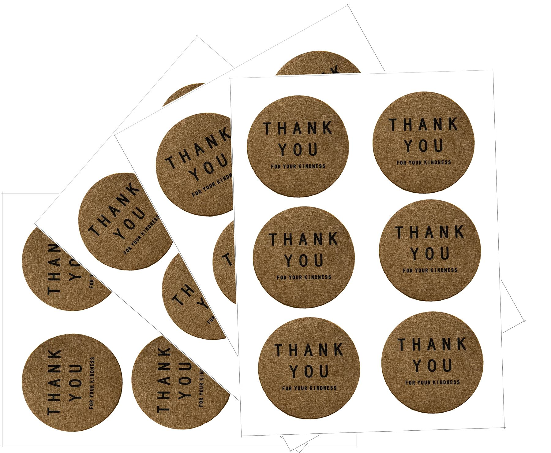 Thank-you-For-Your-Kindness-Teacher-Tokens-Stickers-Packaging-Gift-Tags