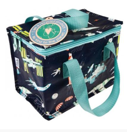 Eco-Friendly-Recycled-Kids-Lunch-Cool-bag-School-Teen-Adult-Insulated-Work thumbnail 34
