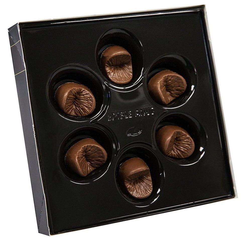 Chocolate Comestible Dulces grosero Adulto Novedad Regalo ano Hen Stag día de San Valentín Broma