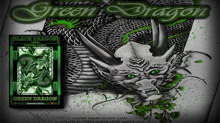 Black Dragon Series Playing Cards by Craig Maidment Standard Edition