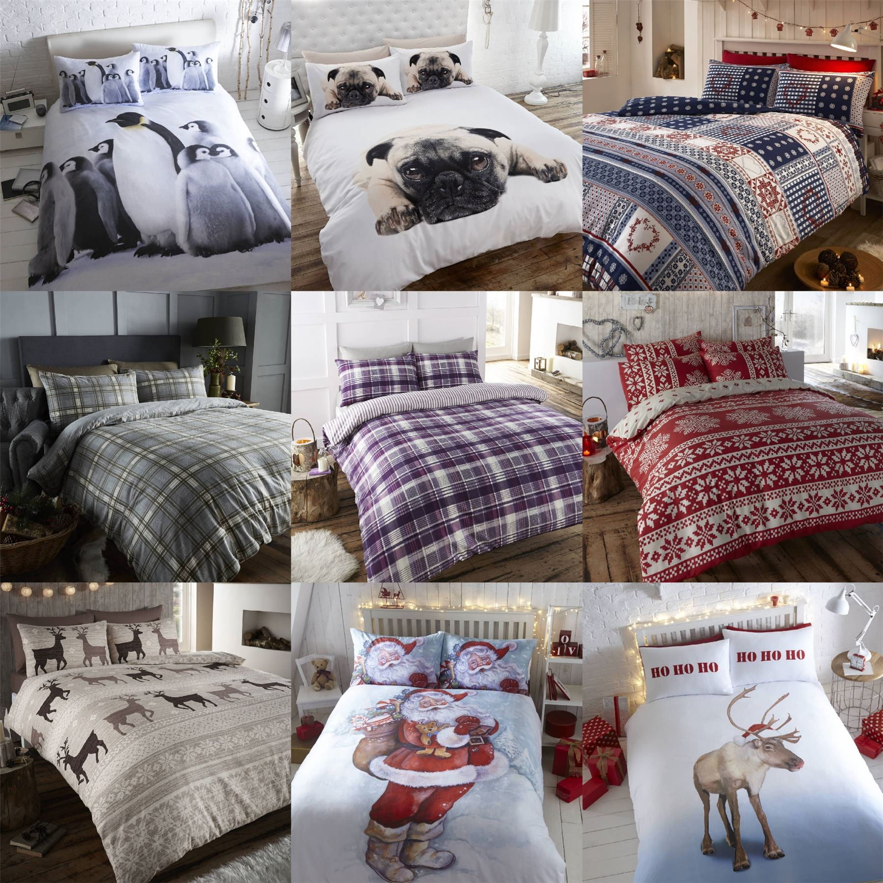 Christmas Bedding King
