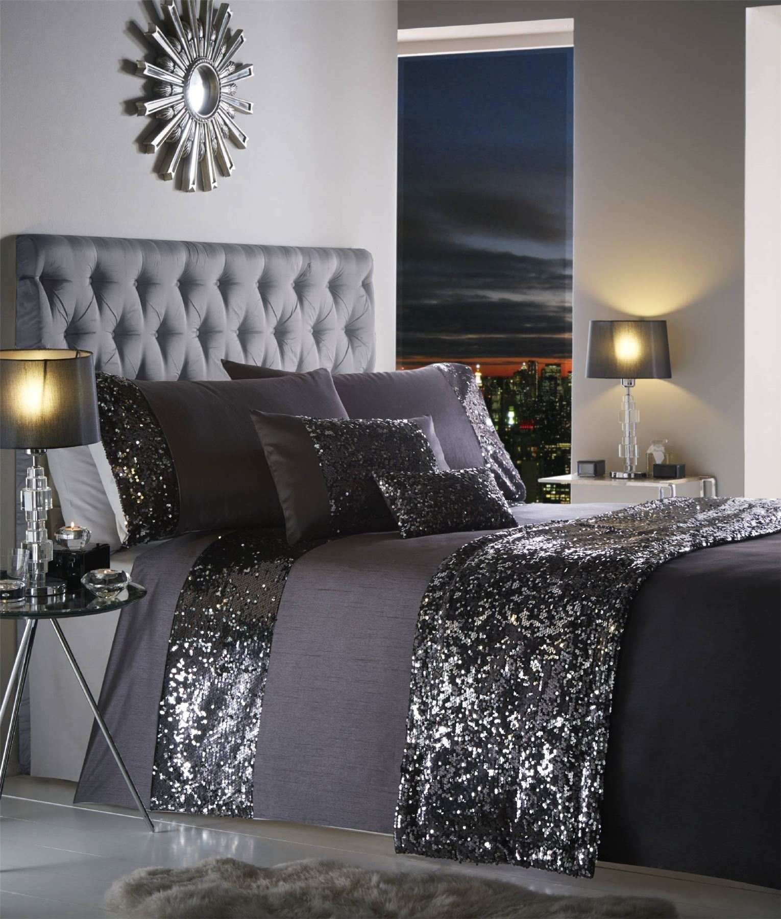 Modern quilt bedding - Picture 2 Of 4