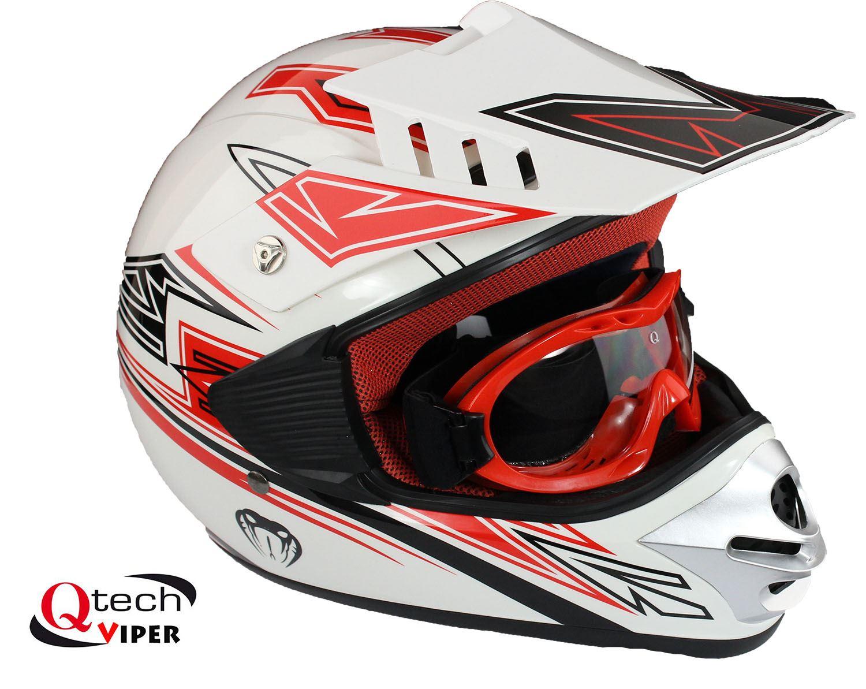 kinder motocross helm mit brille offroad dirt bike ebay. Black Bedroom Furniture Sets. Home Design Ideas