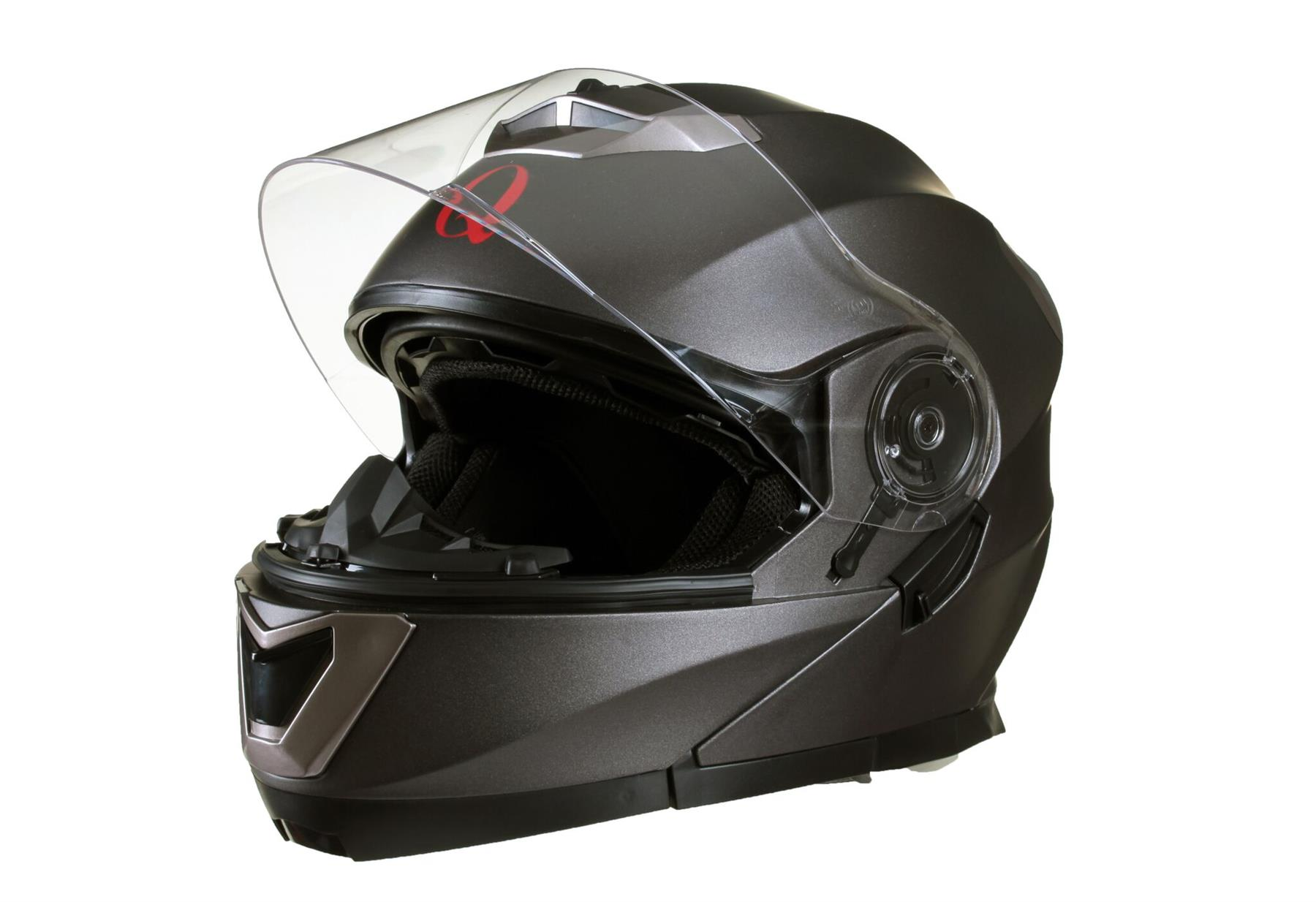 MODULAR-Flip-up-Front-Helmet-DOUBLE-Visor-MOTORCYCLE-Motorbike-Colour-CHOICE miniature 13