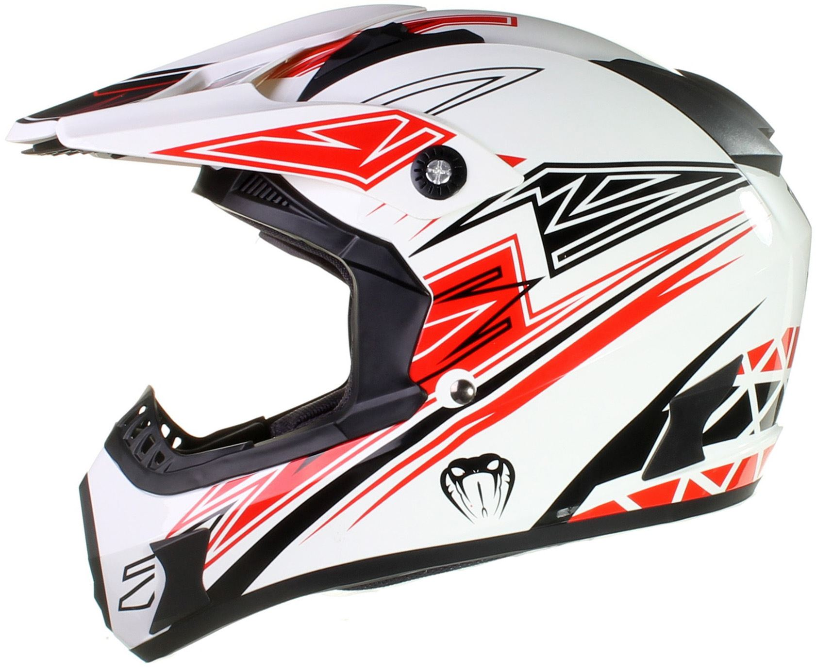 qtech viper motocross helm f r offroad enduro. Black Bedroom Furniture Sets. Home Design Ideas