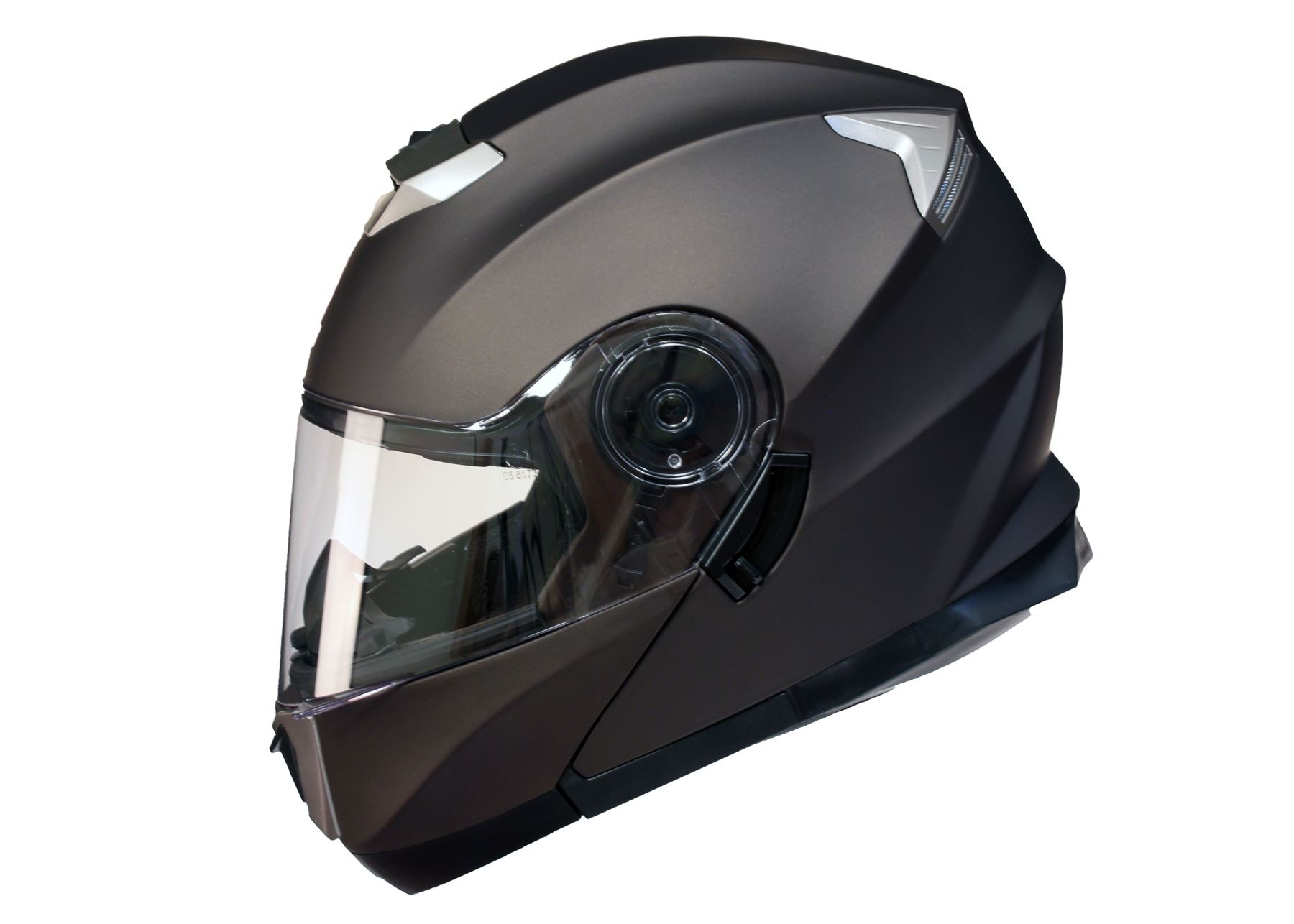 MODULAR-Flip-up-Front-Helmet-DOUBLE-Visor-MOTORCYCLE-Motorbike-Colour-CHOICE miniature 5