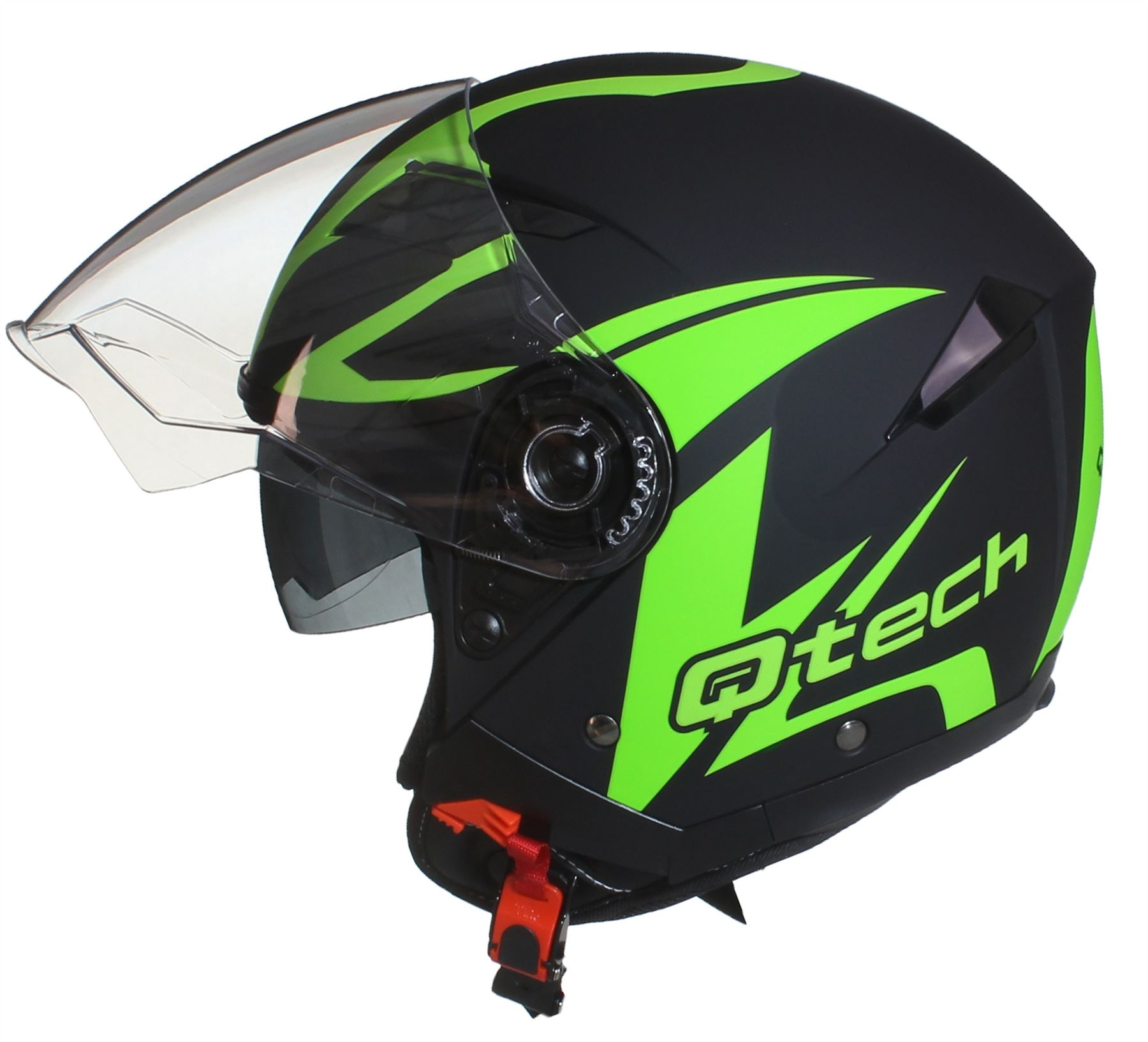 casque de moto face ouverte pare soleil interne jet helm double visi re scooter ebay. Black Bedroom Furniture Sets. Home Design Ideas
