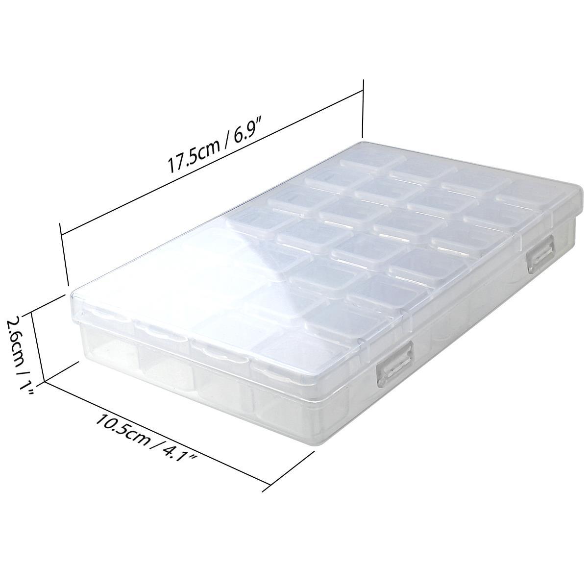 28-Diamond-Painting-Storage-Boxes-Bead-Organiser-Tray-Art-Beads-Embroidery-Case thumbnail 9