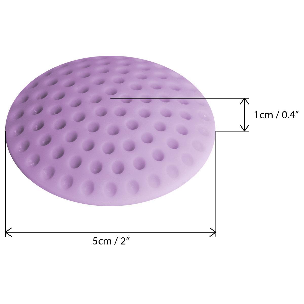 5-x-Wall-Protector-Self-Adhesive-Rubber-Stop-Door-Handle-Bumper-Guard-Stopper miniatuur 4