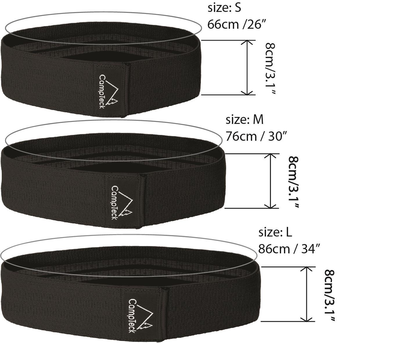 Hip-Band-Circle-Loop-Rotation-Glute-Resistance-Thrust-Leg-Squat-Gym-Exercise miniatuur 3
