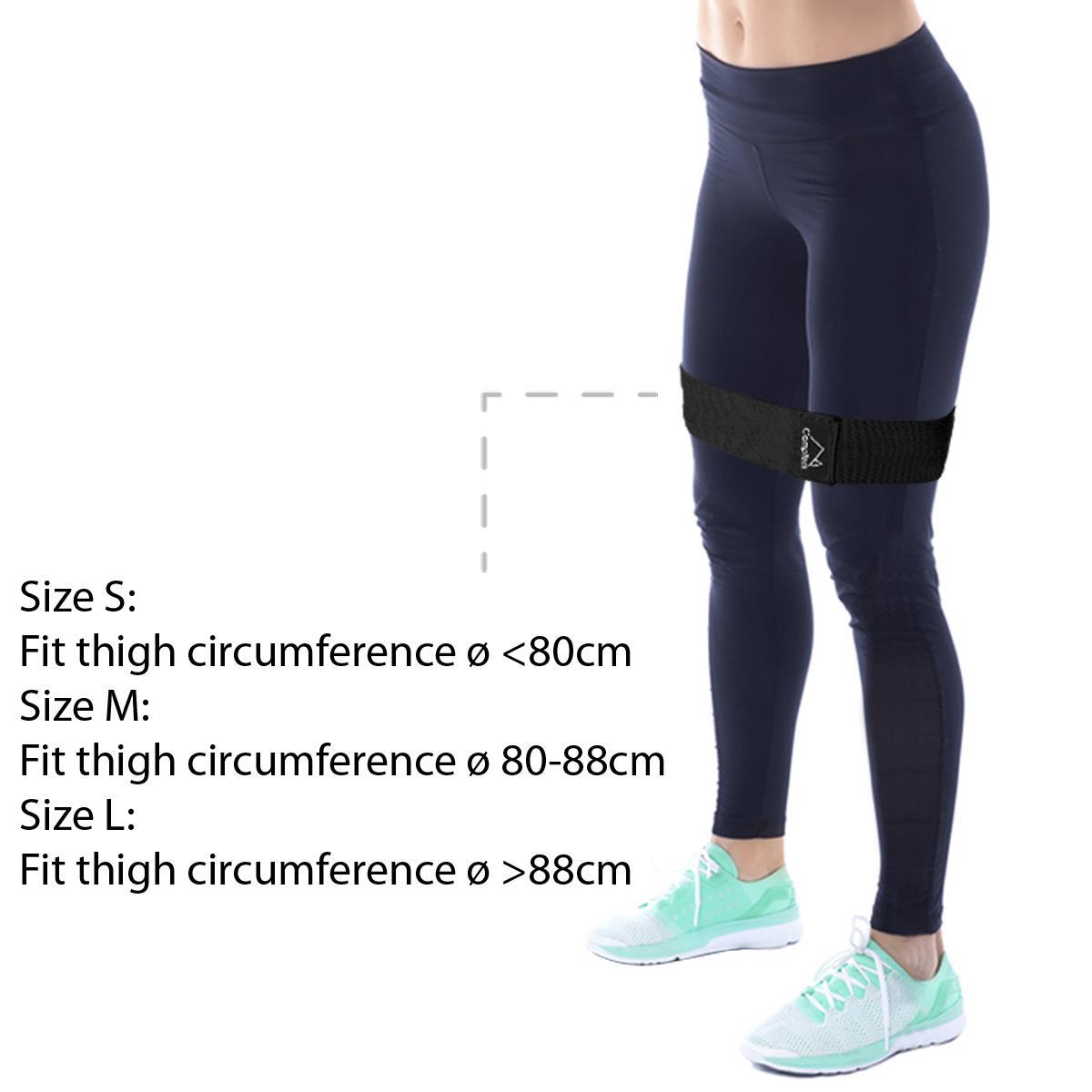 Hip-Band-Circle-Loop-Rotation-Glute-Resistance-Thrust-Leg-Squat-Gym-Exercise miniatuur 8