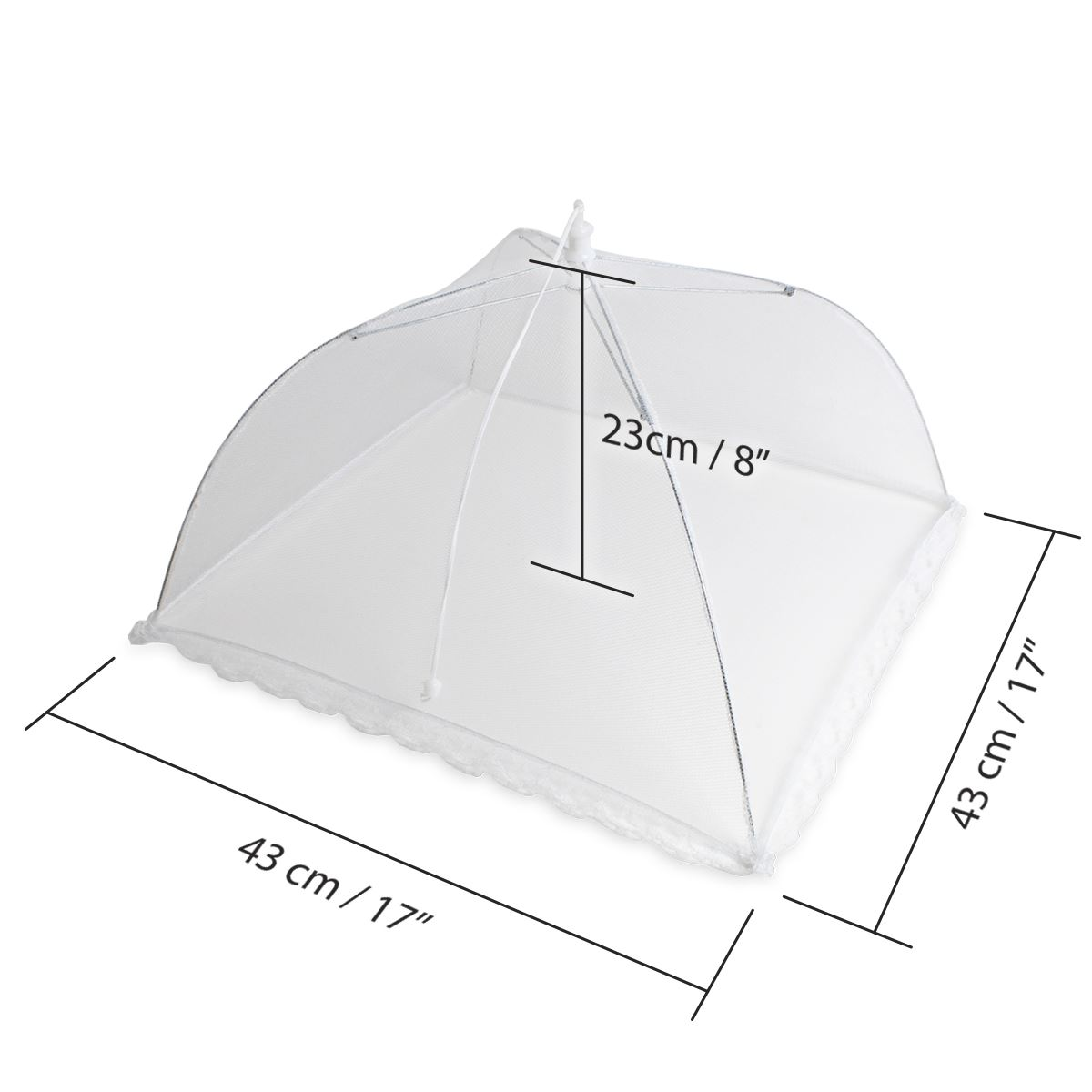 Reusable-Pop-up-Mesh-Screen-Dome-Food-Cover-Tent-Umbrella-Net-BBQ-Table-Fly thumbnail 7