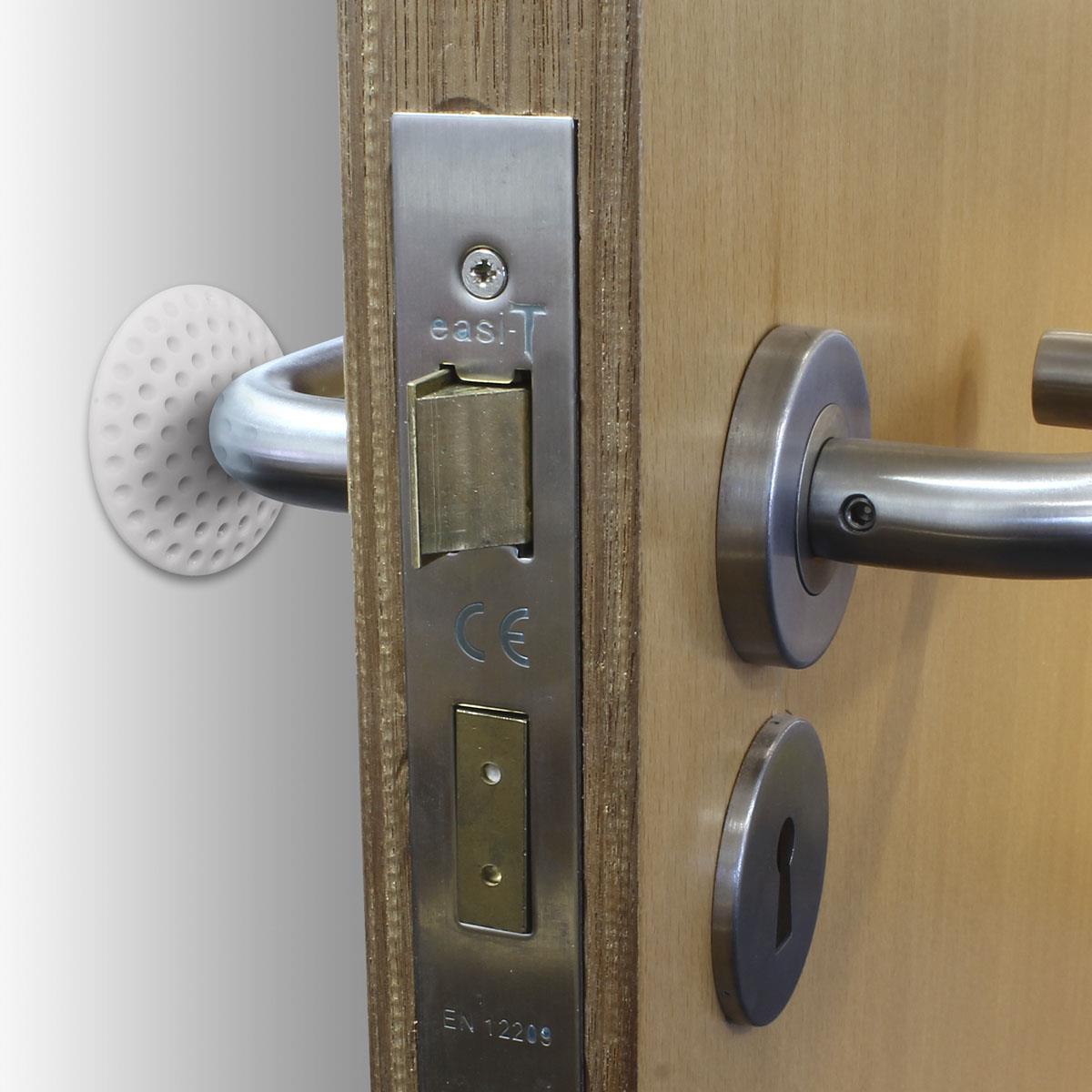 5-x-Wall-Protector-Self-Adhesive-Rubber-Stop-Door-Handle-Bumper-Guard-Stopper miniatuur 11