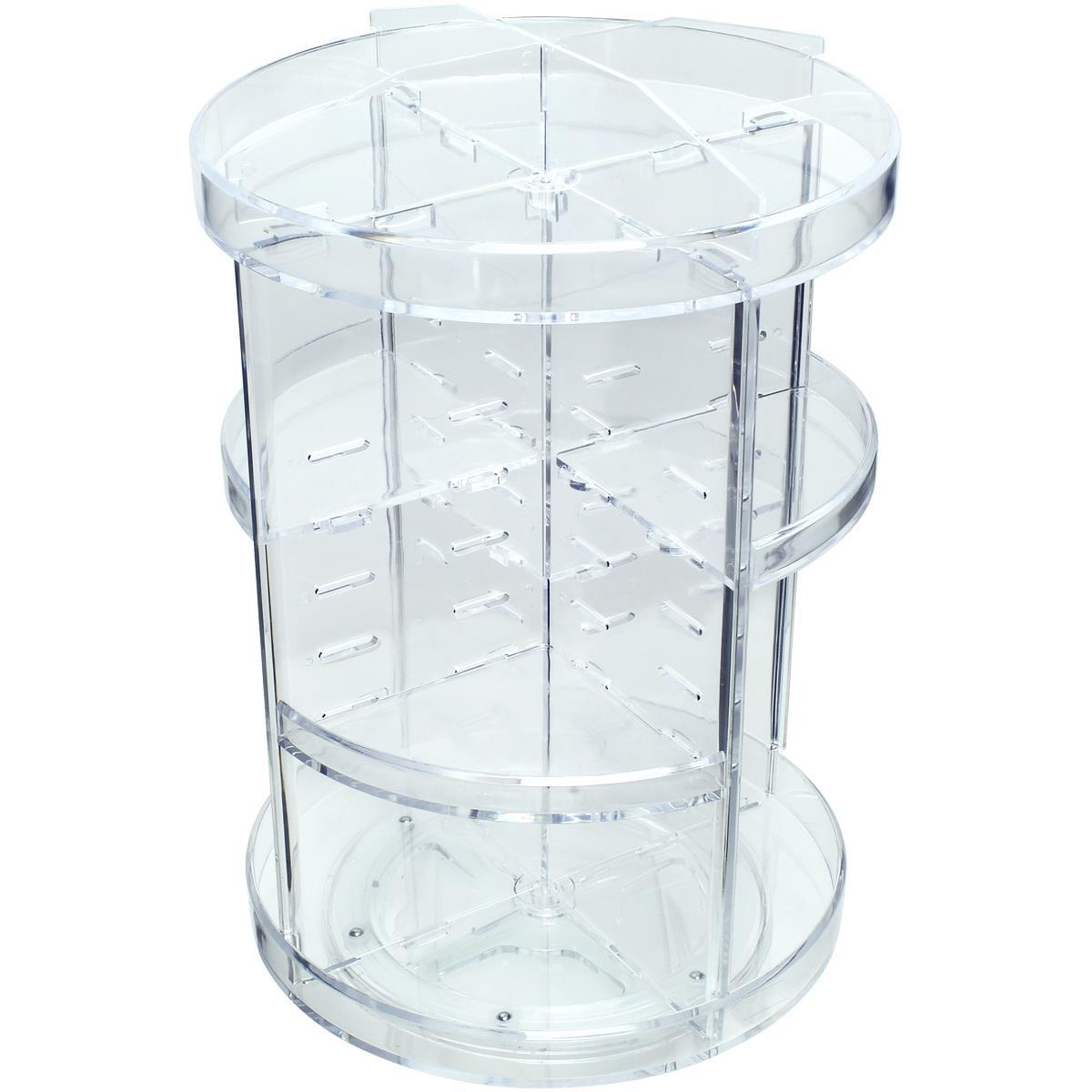 360 Rotating Makeup Organiser Storage Beauty Carousel Cosmetics Holder Stand  | eBay